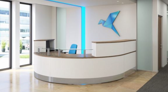 reception desk office furniture