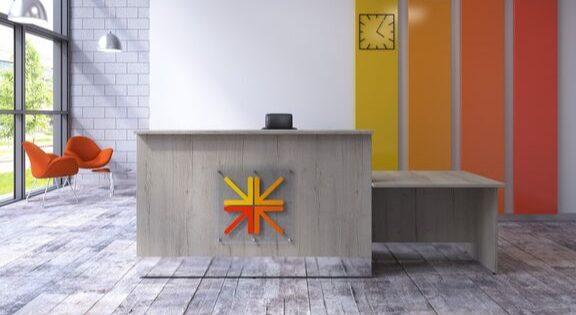 reception area office furniture