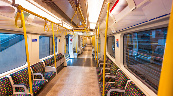 train carriage antibacterial service