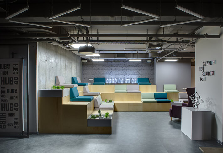 breakout zone for employees
