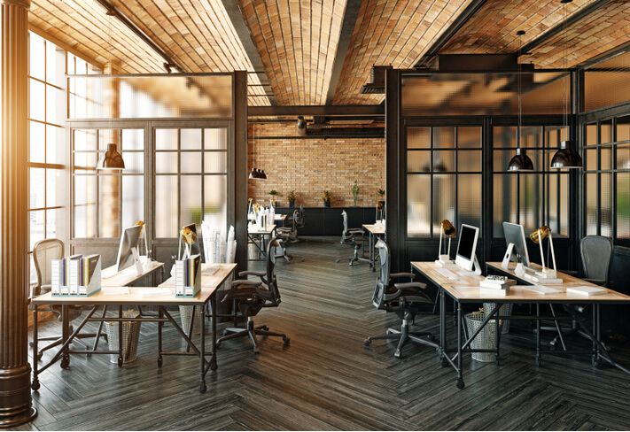 create zoning within the workplace